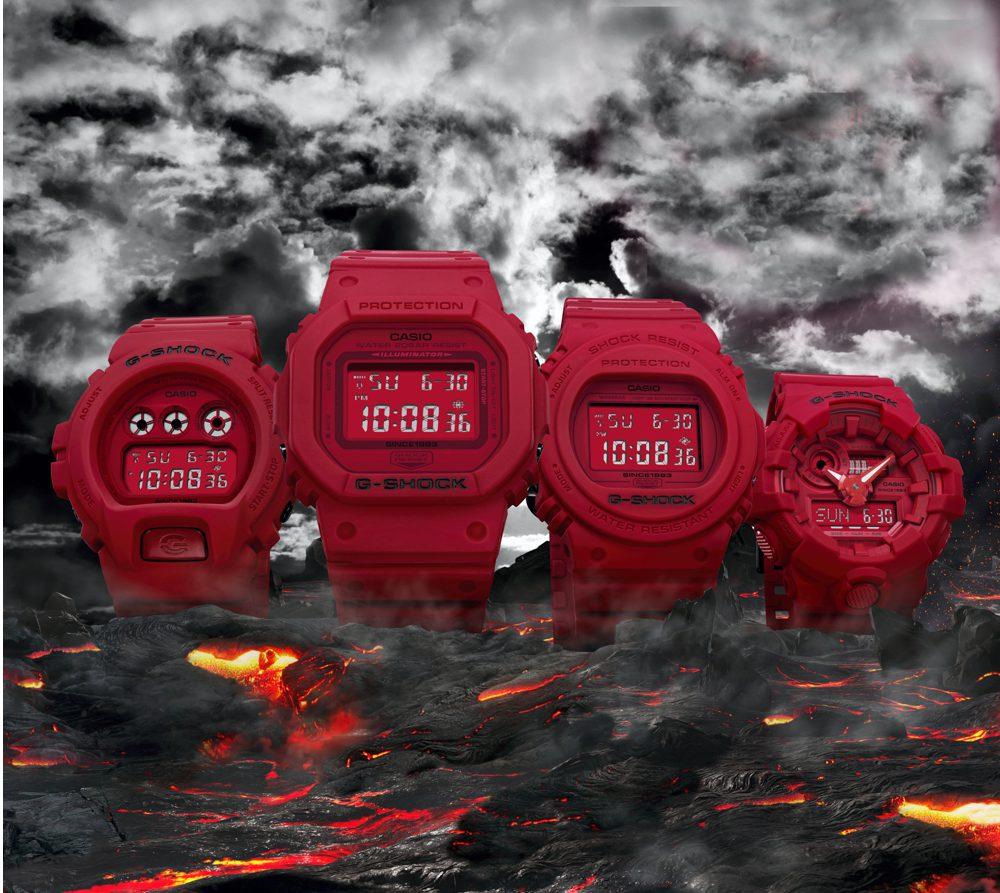 e72a8c1cc531 G-SHOCK Festeja 35 años - ¡Para relojes Casio también pasa el tiempo!