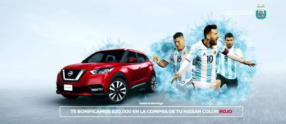 Promo NIssan Rojo