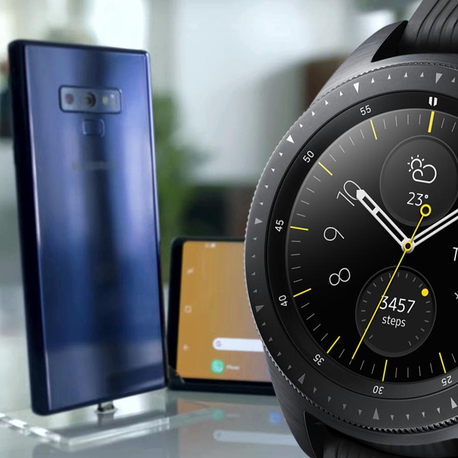 Galaxy Note9 + Watch