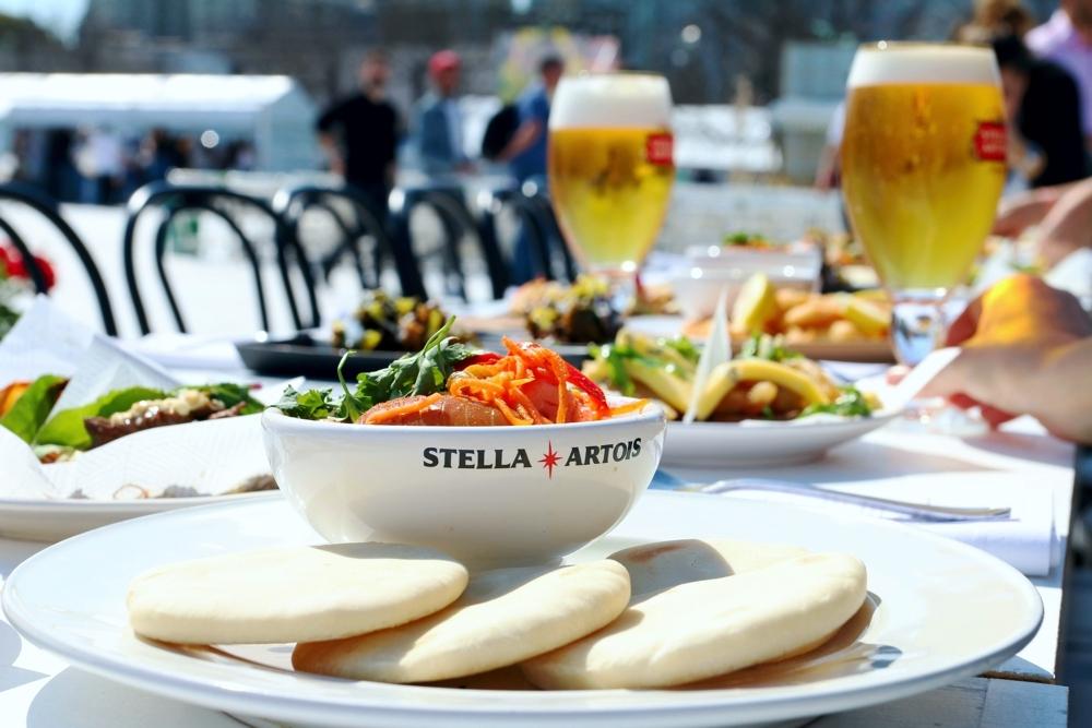 Mesa Compartida Stella Artois