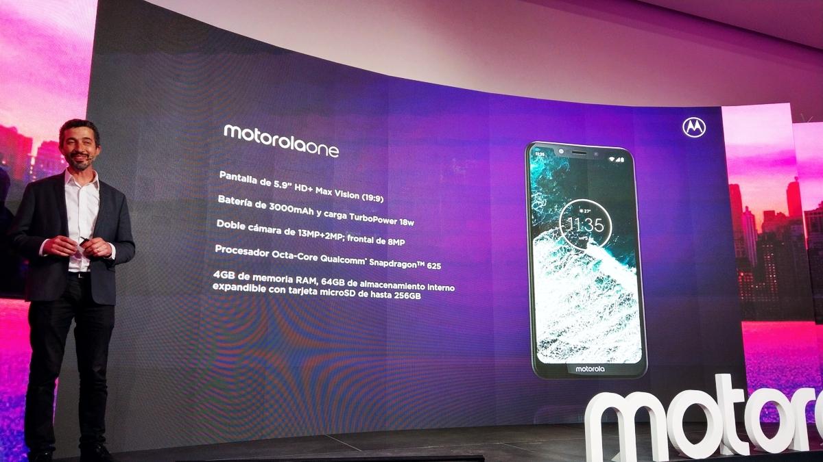 Lanzamiento Motorola One