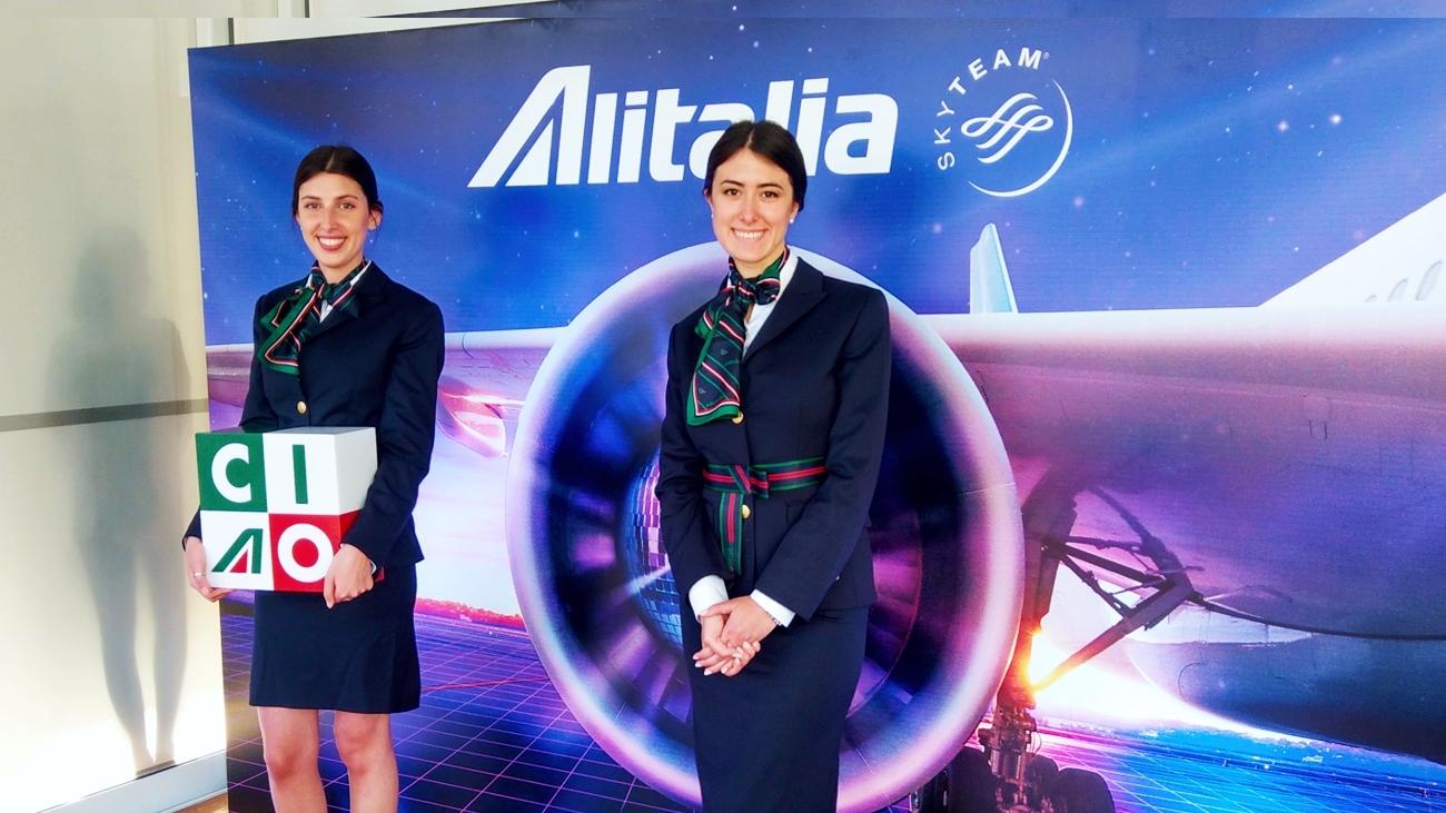 Alitalia 70 años