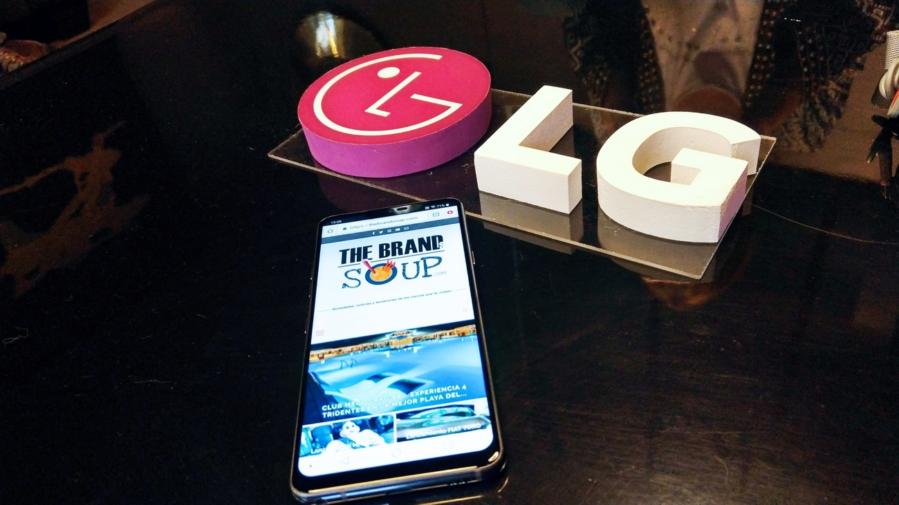 LG G7 y OLED