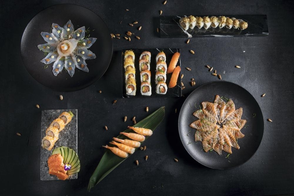 Fabric Sushi Carta