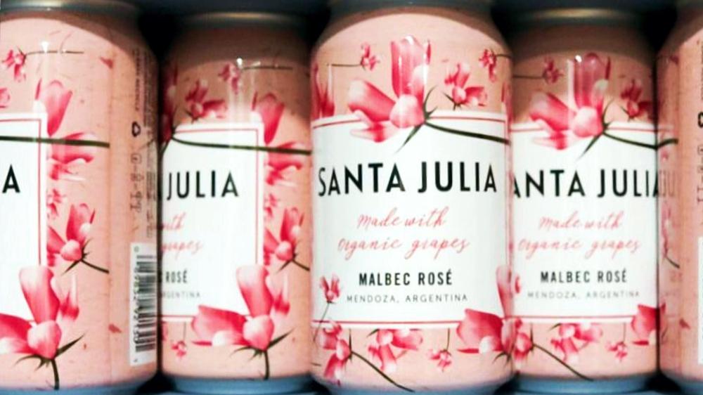 Santa Julia en lata