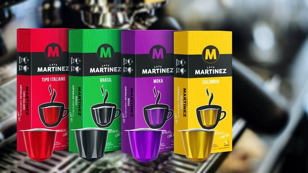 Cápsulas Café Martinez