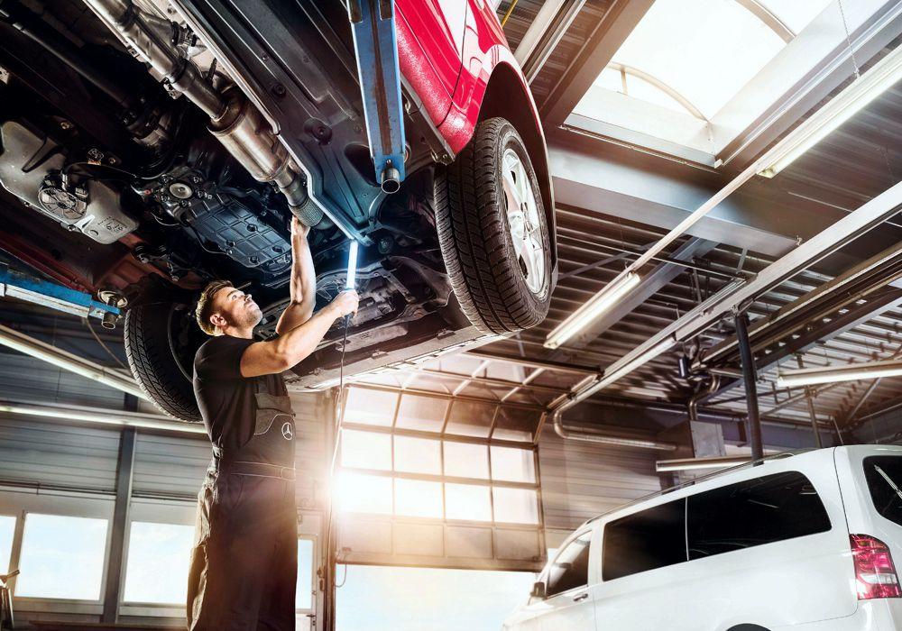EXPRESS SERVICE – El tiempo es productividad y Mercedes Benz lo sabe