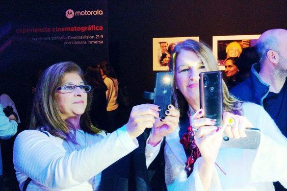 El cine llegó al tu celular con el nuevo Motorola One Vision