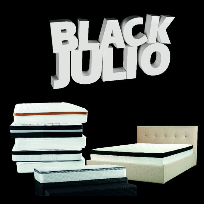 Sommier Center Black Julio