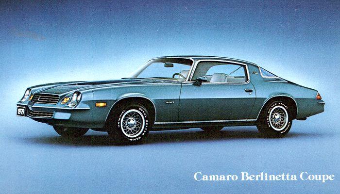 1979 Camaro Berlinetta Coupé