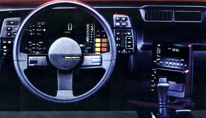 1984 Interior Chevrolet Camaro Berlinetta