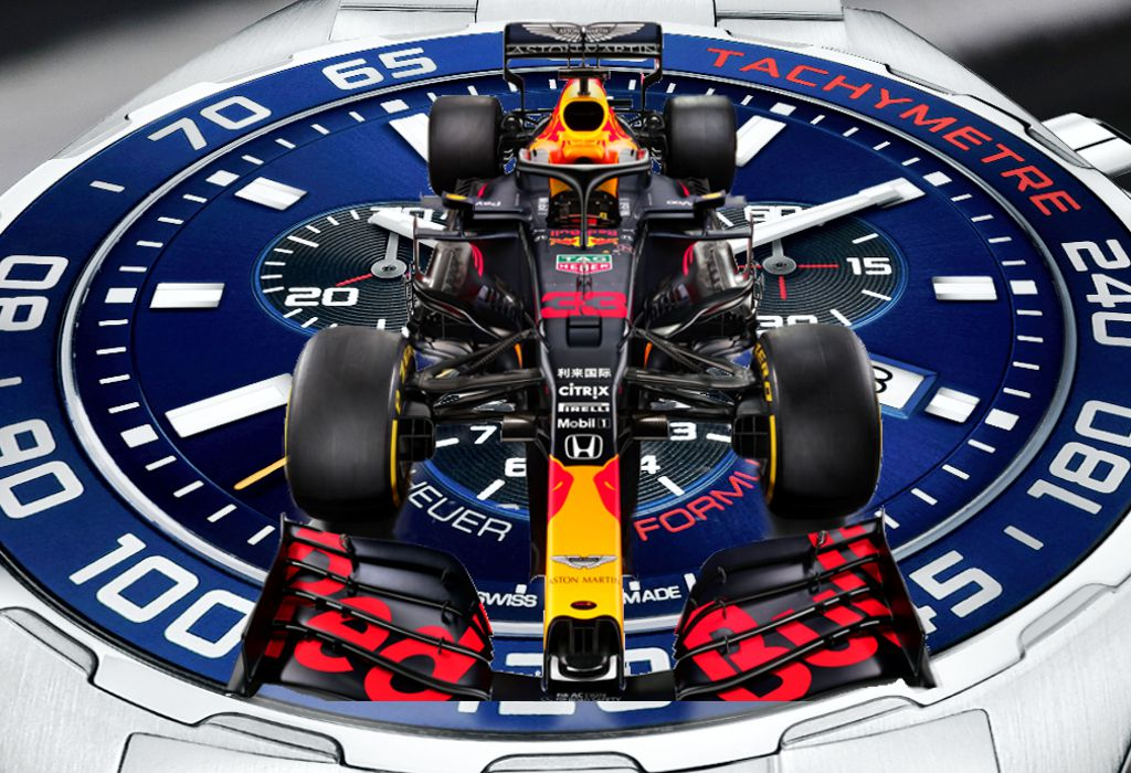 Tag Heuer Formula 1 Nuevo Exponente Aston Martin Red Bull Racing