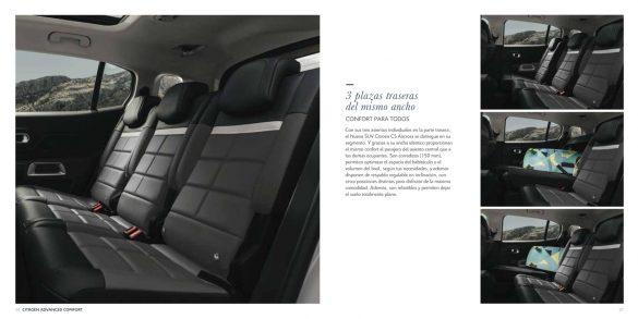 Citroën C5 Aircross folleto con especificaciones del modelo
