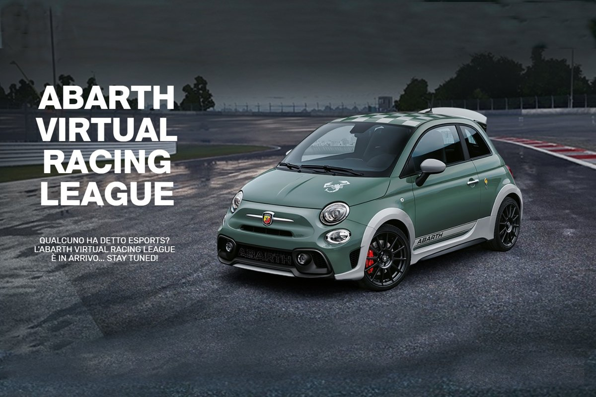 Abarth Escorpión en la Virtual Racing League