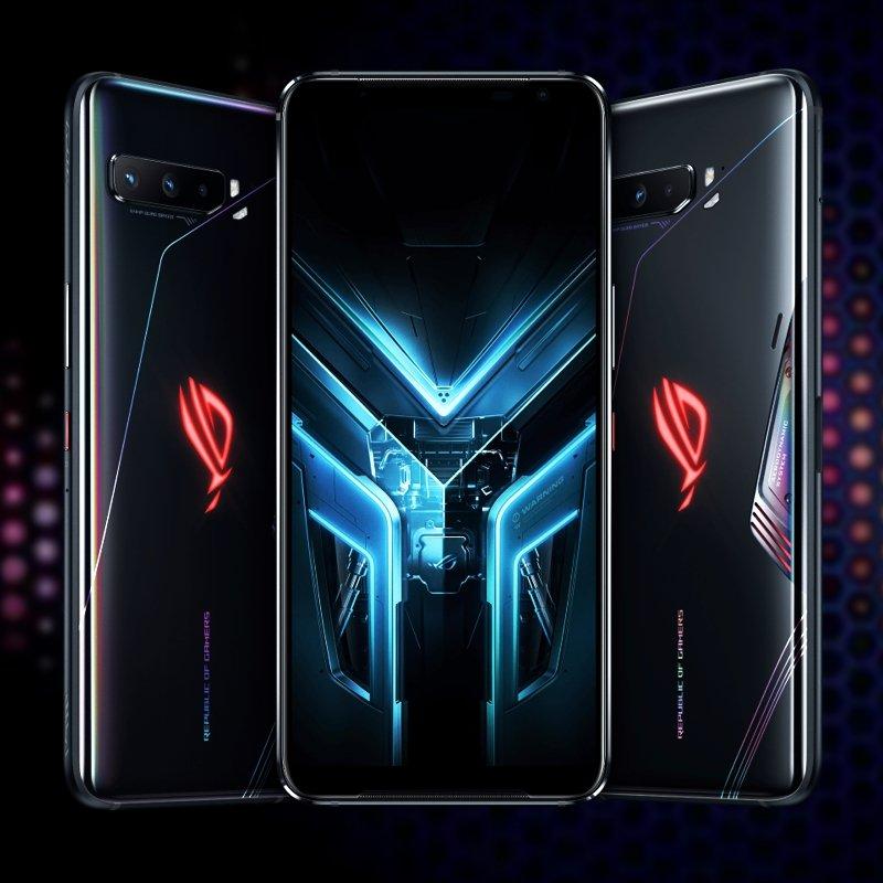 Presentación del Asus ROG Phone 3 frente y dorso
