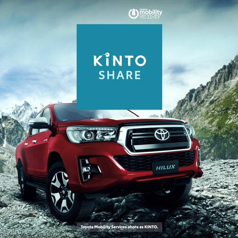 Kinto, servicio global de Toyota Mobility Services en Argentina