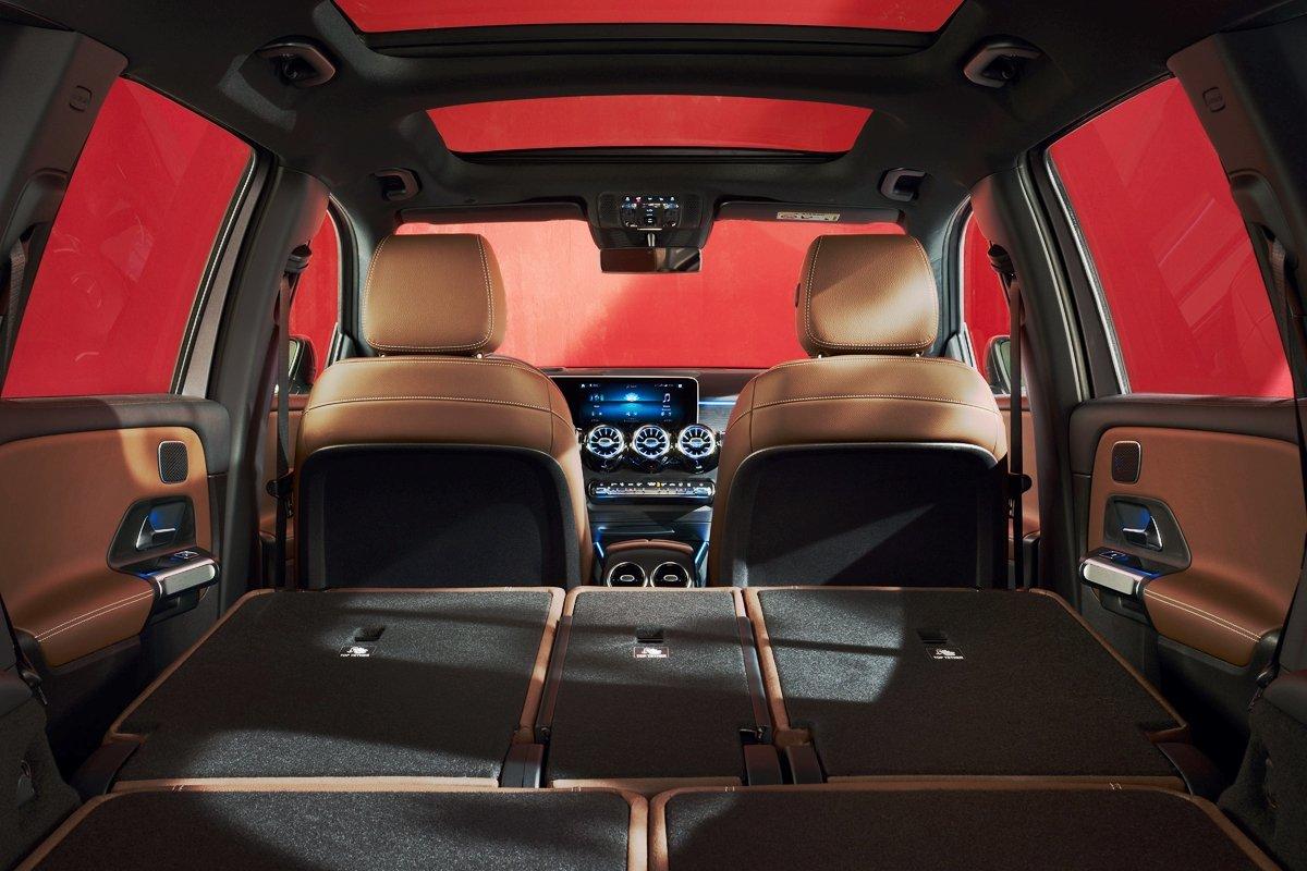 Mercedes Benz GLB 250 y su espacio de carga