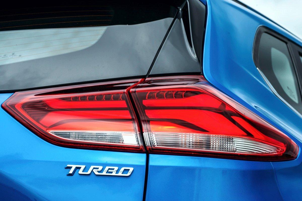 Faro traserode la nueva Chevrolet Tracker 2020