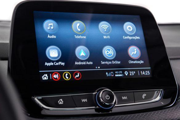 Sistema de navegación de la nueva Chevrolet Tracker 2020