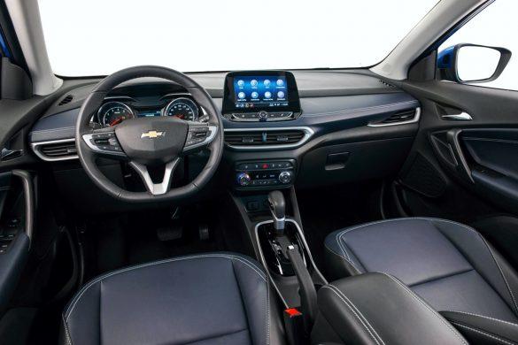 Vista interior de la nueva Chevrolet Tracker 2020