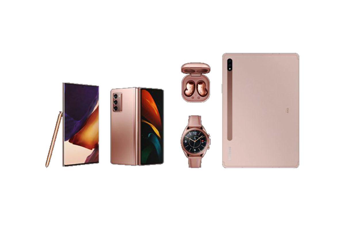 Productos presentados en el Samsung Galaxy Unpacked en vivo desde Corea