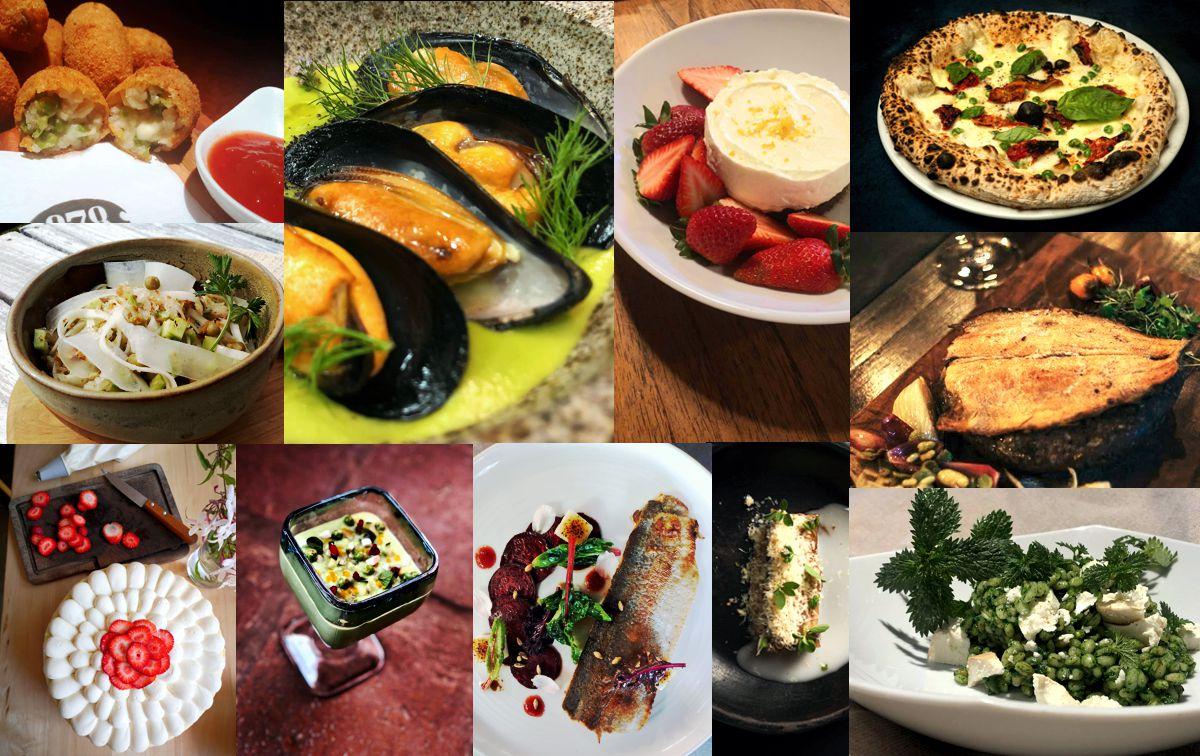 Parte de la oferta gastronómica de Conexión Masticar 2020