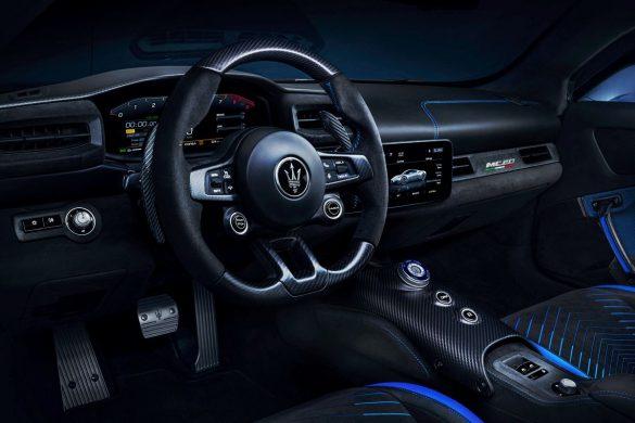 Interior del Maserati MC20