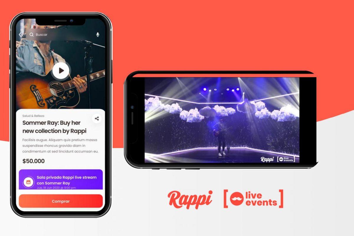 App Rappi Live Events