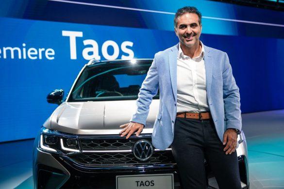 Pablo Di Si en la world premiere de VW Taos
