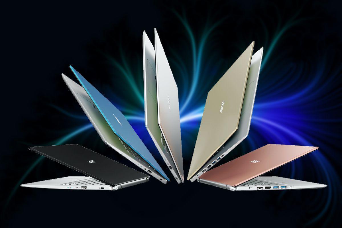 Acer Aspire 5 colores