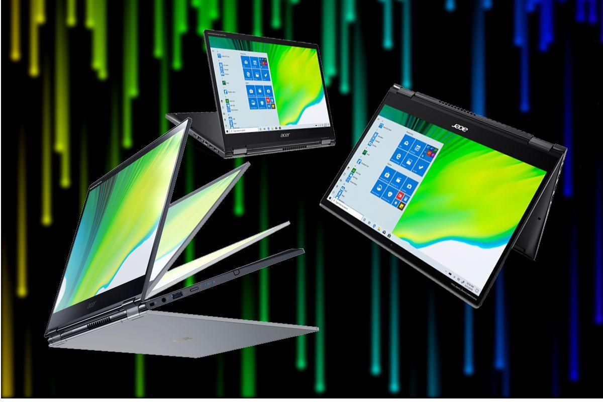 Acer Spin 5 Varios Formatoss