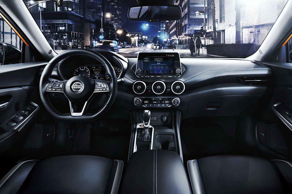 Interior del nuevo Nissan Sentra 2020