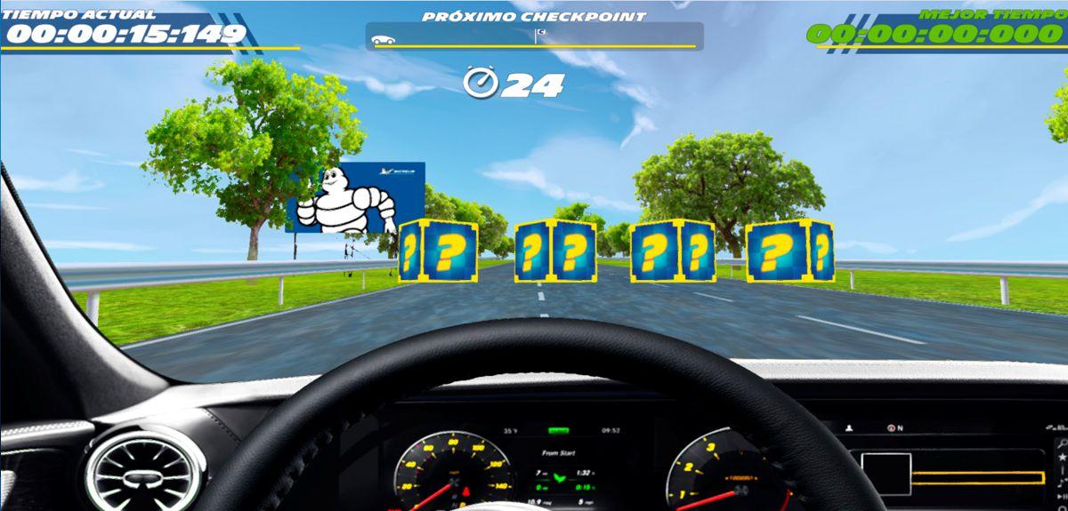 CarDriverXP, el videojuego de Michelin que apuesta a la seguridad vial