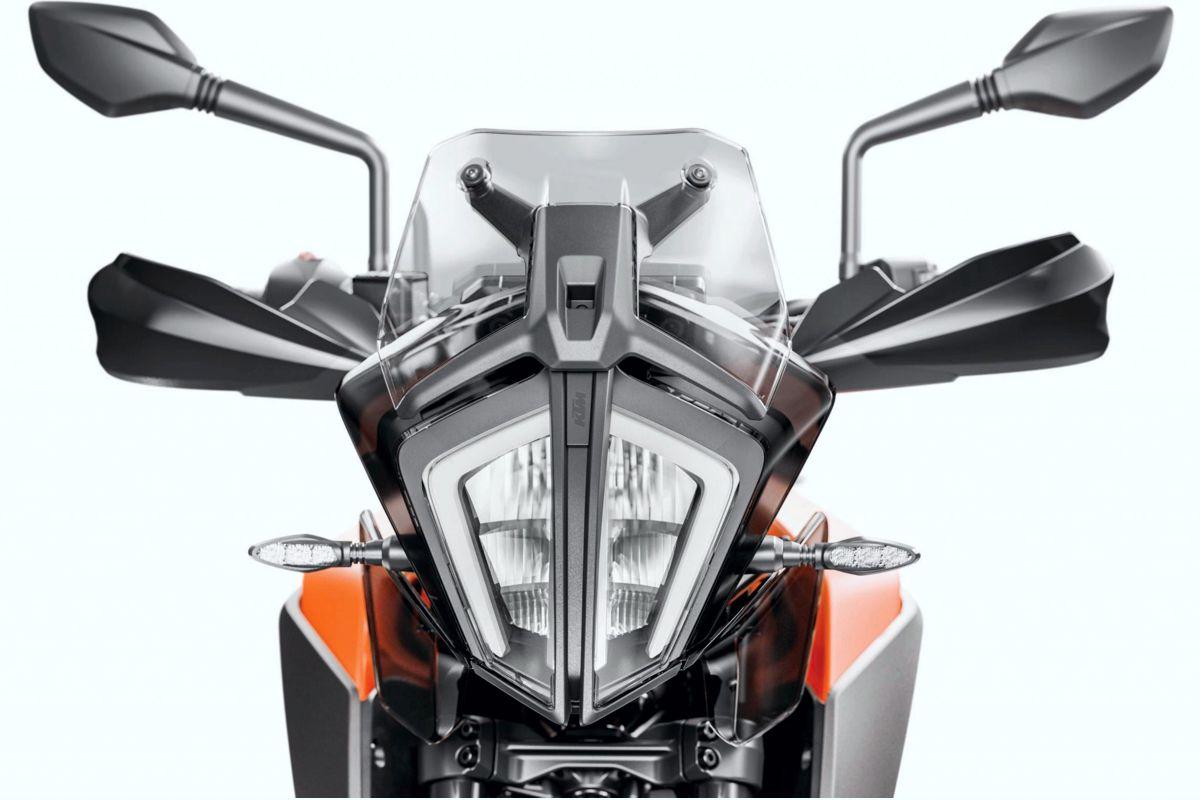 Luminaria de la KTM 390 Adventure