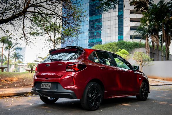 Chevrolet Onix RS en la ciudad