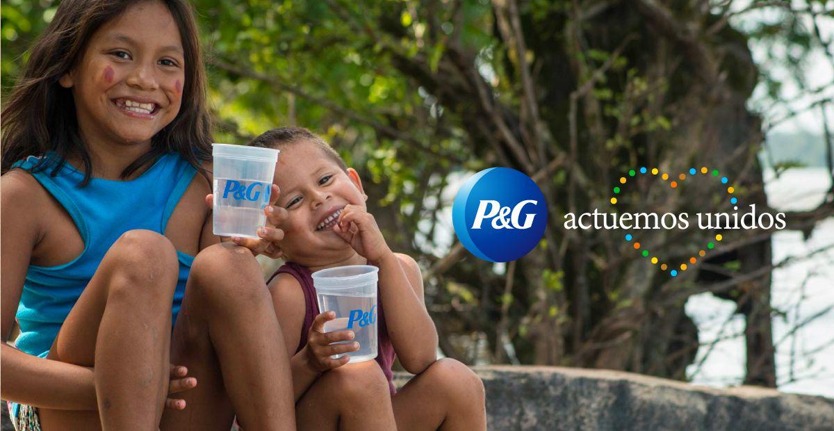 P&G #ActuemosUnidos