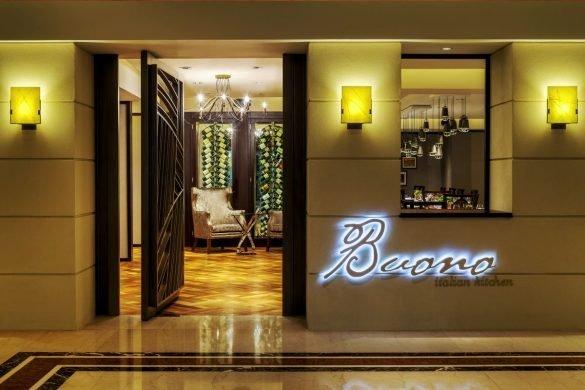 San Valentín en el Sheraton Hotel, Buono Restaurante