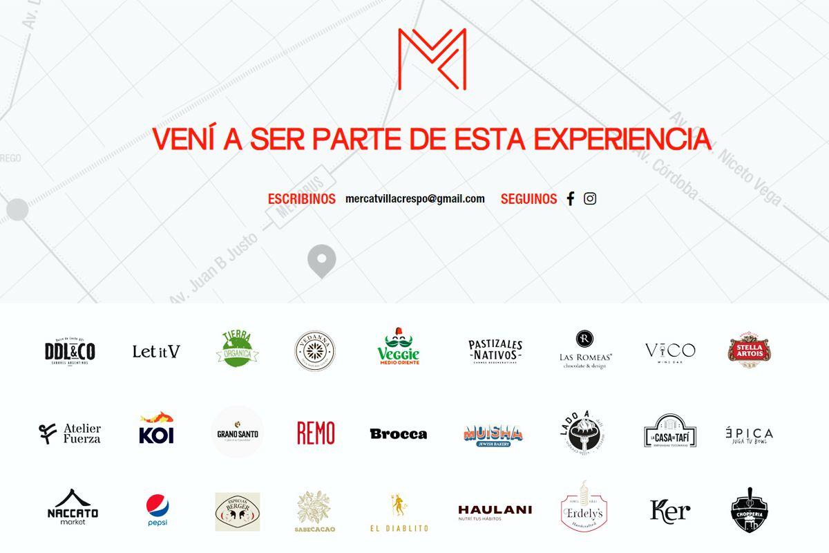 Integrantes de Mercat Villa Crespo