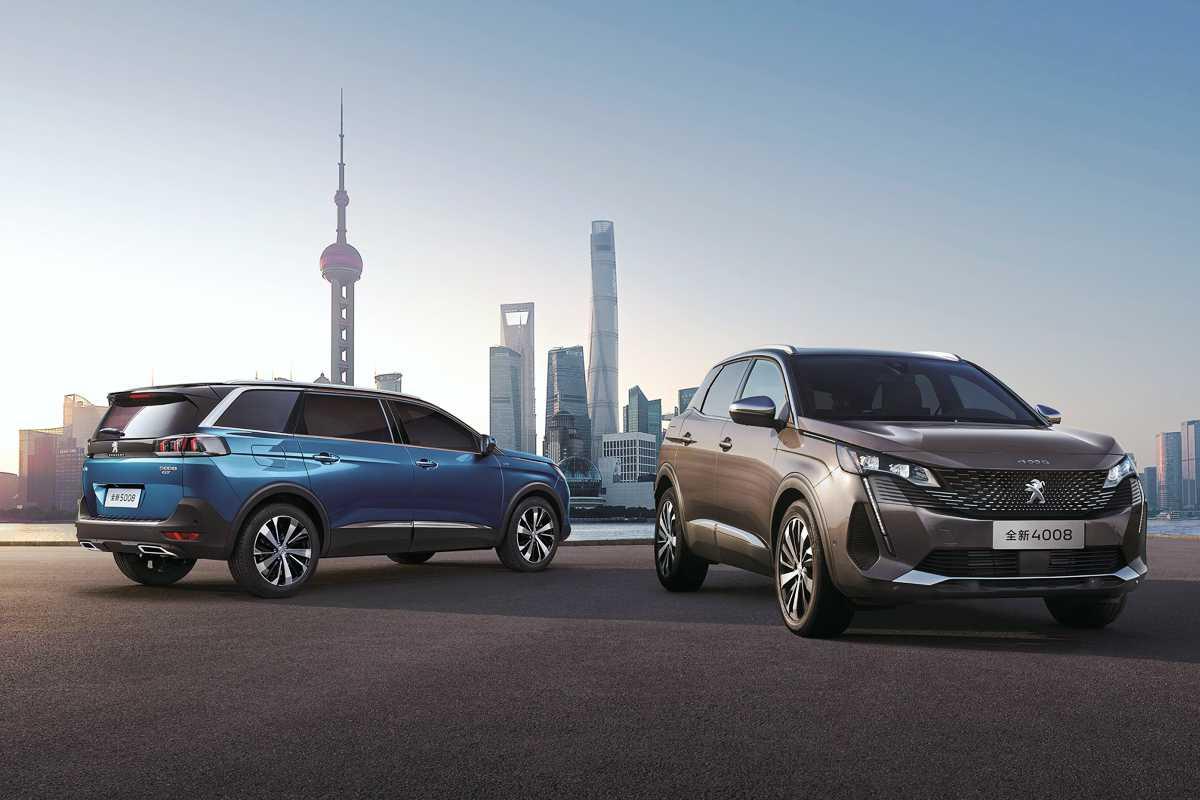Dongfeng Peugeot en Shangai China