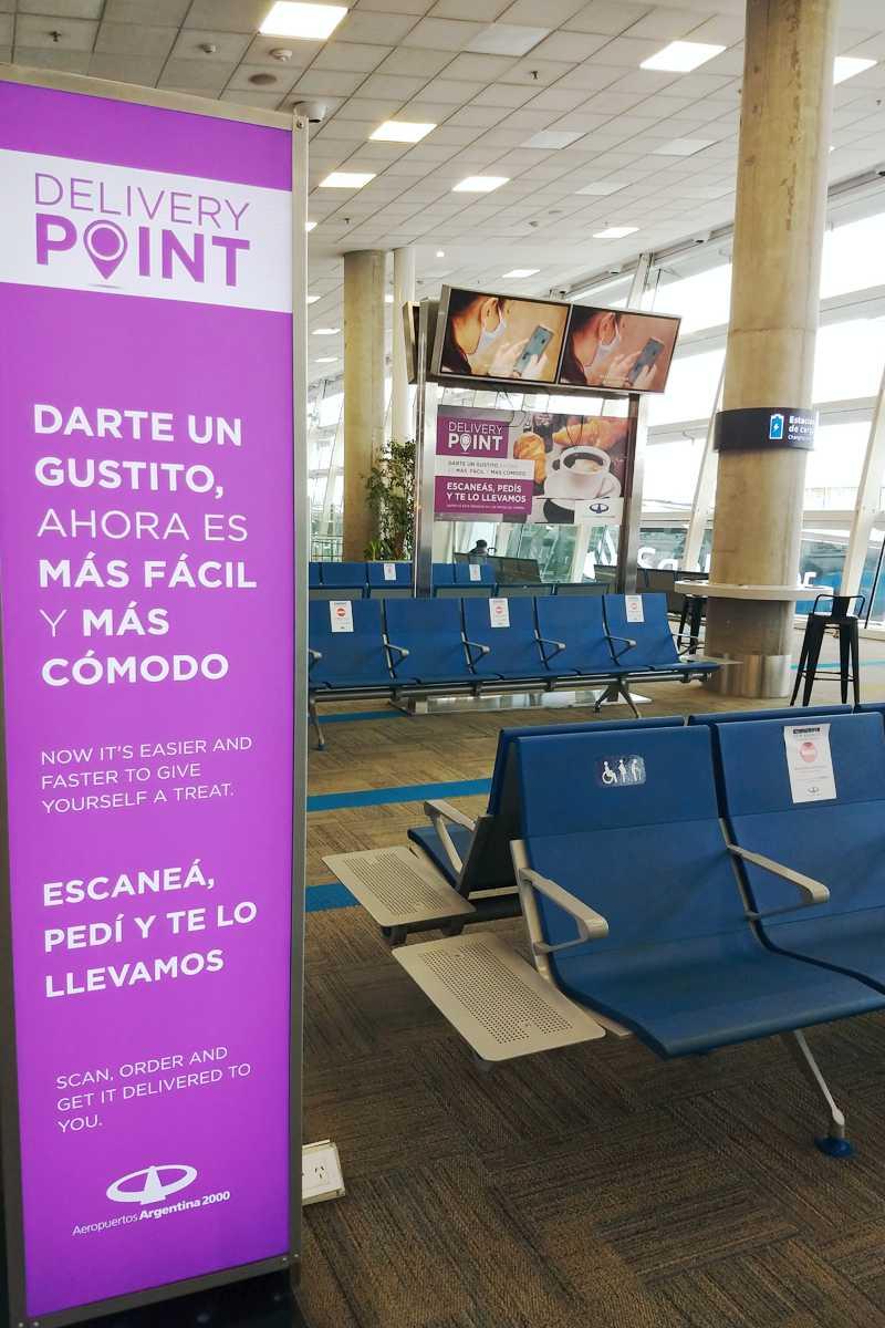 Delivery Point de Aeropuertos Argentina 2000