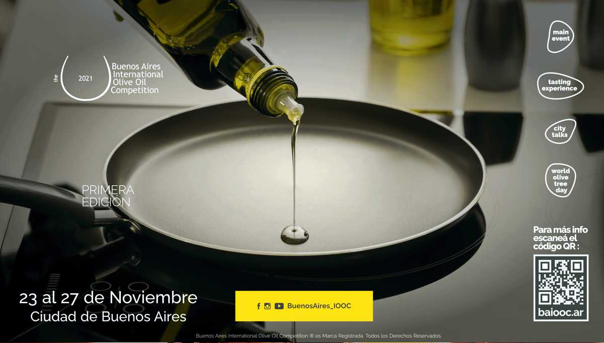 Buenos Aires International Olive Oil Competition e flyer