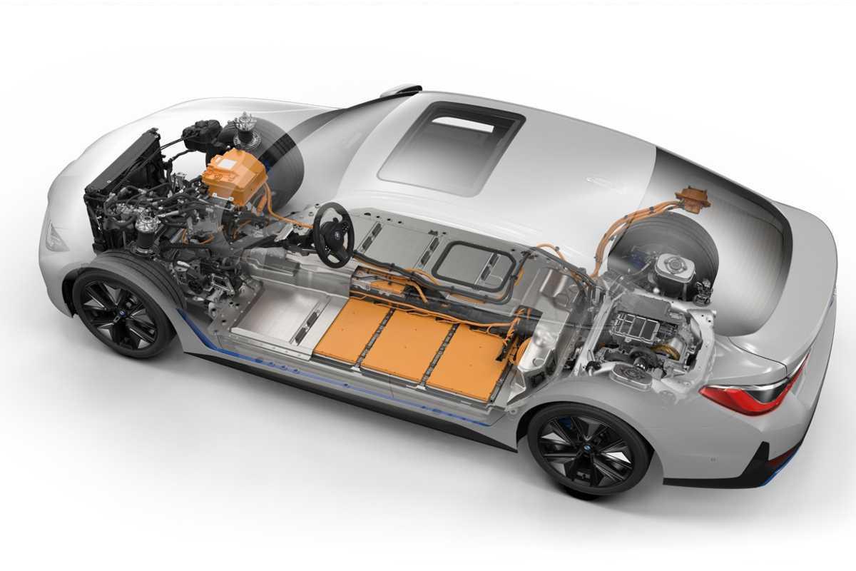 BMW I4 imagen sistema