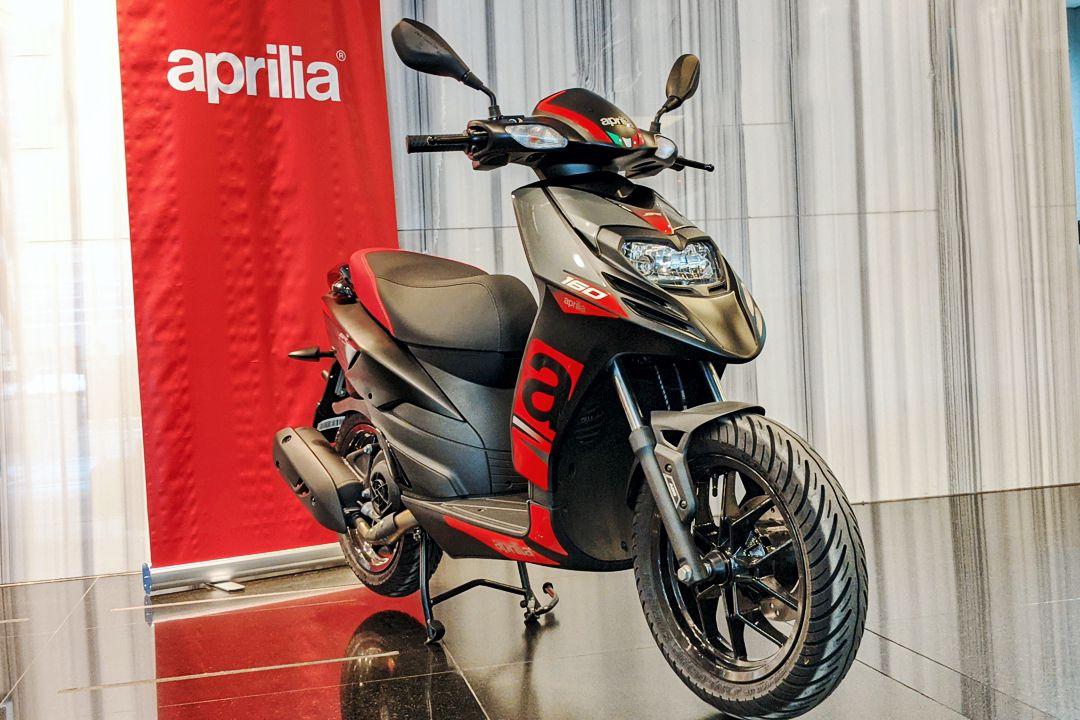 Nuevo scooter Aprilia RS 160