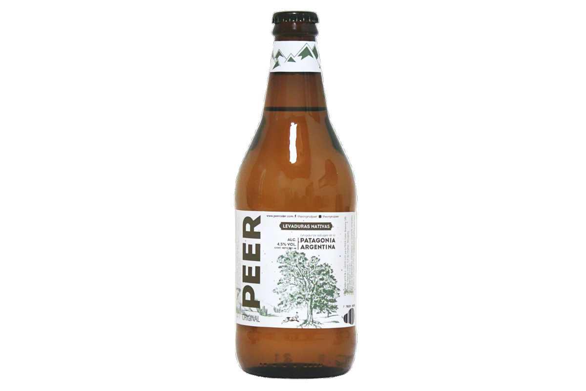Botella de PEER Levaduras Nativas