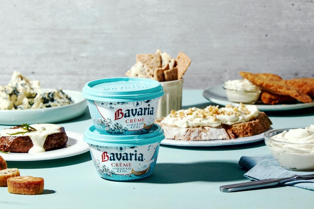 Nueva Creme de queso azul Bavaria
