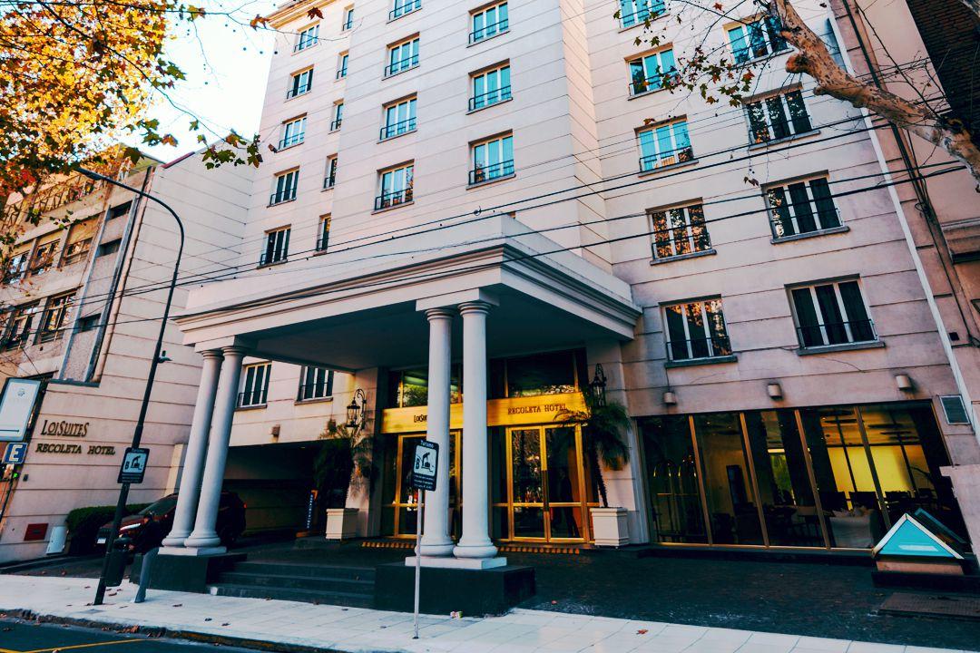 Fachada Loi Suites Hoteles Recoleta