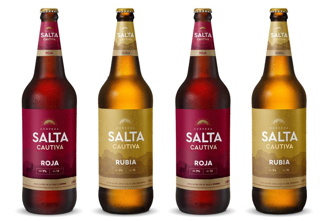 Nueva cerveza Salta Cautiva variedades