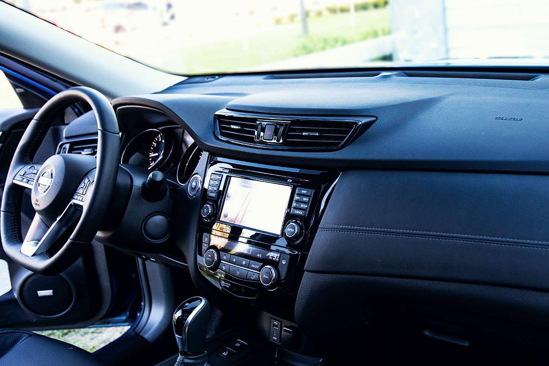 Interior nueva Nissan X-Trail